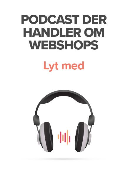 Webshop Podcast med Kathrine Svendsen - dansk e-handel og detail