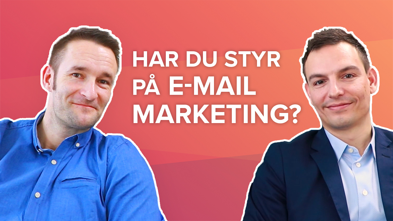 E-mail marketing med Heyloyalty